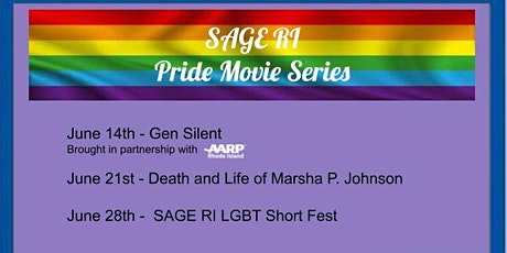 SAGE RI Pride Movie Series - Gen Silent tickets