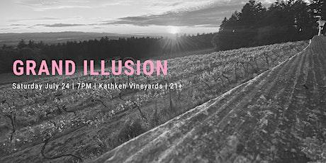 Grand Illusion (Styx) at Kathken Vineyards tickets
