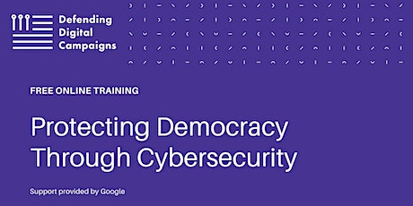 FREE Training in Ohio: Protecting Democracy Through Cybersecurity tickets