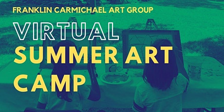 Virtual Summer Art Camp (July 19-23) tickets