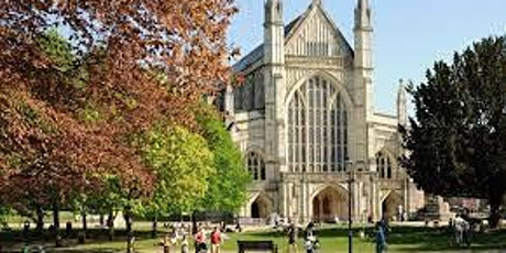 Collecting art installation pieces from Winchester Cathedral tickets