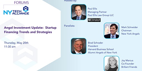 Angel Investment Update: Startup Financing Trends and Strategies tickets