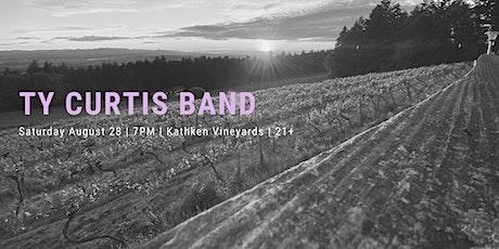Ty Curtis Band at Kathken Vineyards tickets