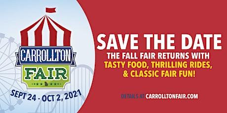 Carrollton Fall Fair - Sept 24 - Oct 2, 2021 tickets