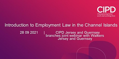 Introduction to Employment Law in the Channel Islands tickets