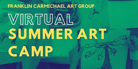 Virtual Summer Art Camp (July 26-30) tickets