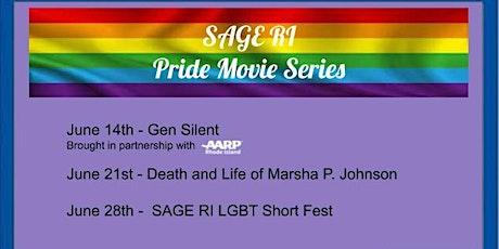 SAGE RI Pride Movie Series - The Death and Life of Marsha P. Johnson tickets