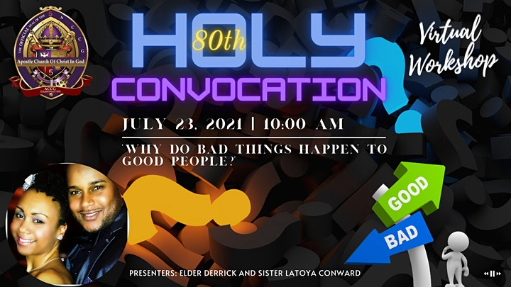 Apostle Church of Christ in God - Holy Convocation 2021 image