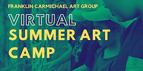 Virtual Summer Art Camp (August 2-6) tickets
