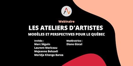 Webinaire - Les ateliers d'artistes : modèles et perspectives billets