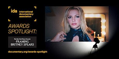 IDA Awards Spotlight: Framing Britney Spears tickets