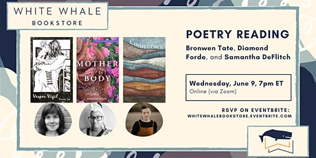 Poetry Reading: Bronwen Tate, Diamond Forde, and Samantha DeFlitch tickets