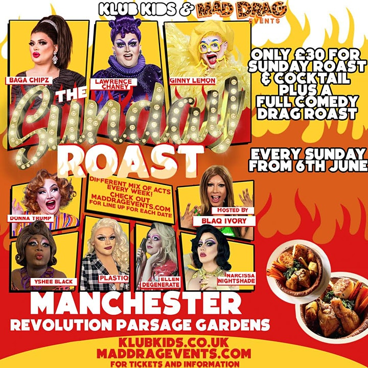 KLUB KIDS MANCHESTER PRESENTS: The Sunday Roast (Ages 18+) image