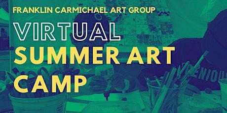 Virtual Summer Art Camp (August 9-13) tickets
