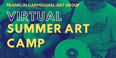Virtual Summer Art Camp (August 16-20) tickets