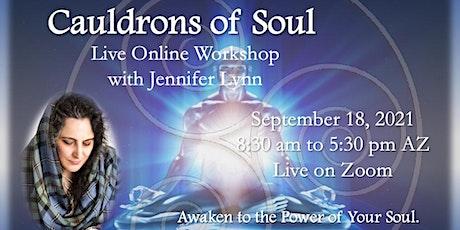 Cauldrons of Soul, a workshop in Celtic Mysticism with Jennifer Lynn tickets