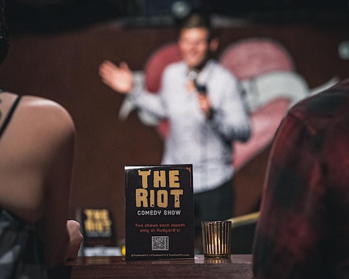 The Riot Comedy Show presents Erik Bergstrom (MTV, Comedy Central) image