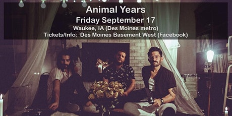 Animal Years - Full Band House Concert - Waukee, IA (Des Moines) tickets