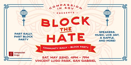 Block the Hate Rally tickets