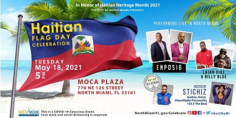 The City of North Miami Celebrates Haitian Heritage on Tuesday May 18, 2021 tickets