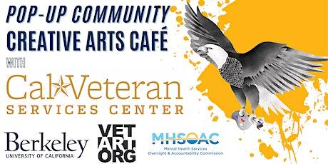 Pop-Up Community Creative Arts Café with Vet Art Org biglietti