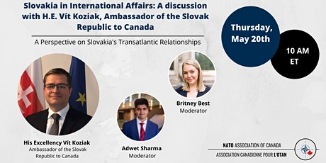 The Future of North Atlantic Cooperation: A Slovakian Perspective tickets