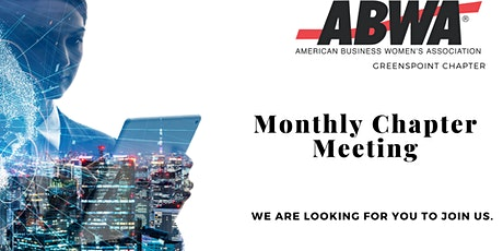 ABWA North Houston Chapter Monthly Meeting with Sharrarne Morton tickets
