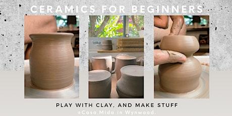 Ceramics for Beginners (@Casa.Mida in Wynwood) tickets
