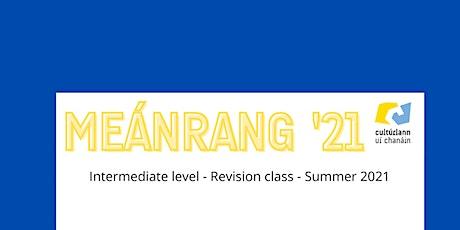 MEÁNRANG SÚIL SIAR - INTERMEDIATE level revision class (Yr 3 + 4) tickets