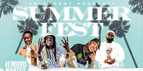 3 Block Ent. Summer Fest tickets