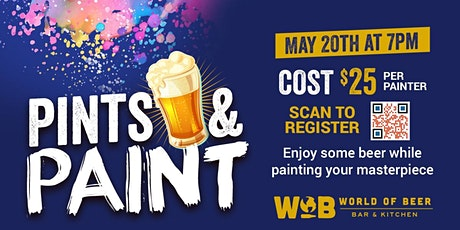 Pints & Paints Party! tickets