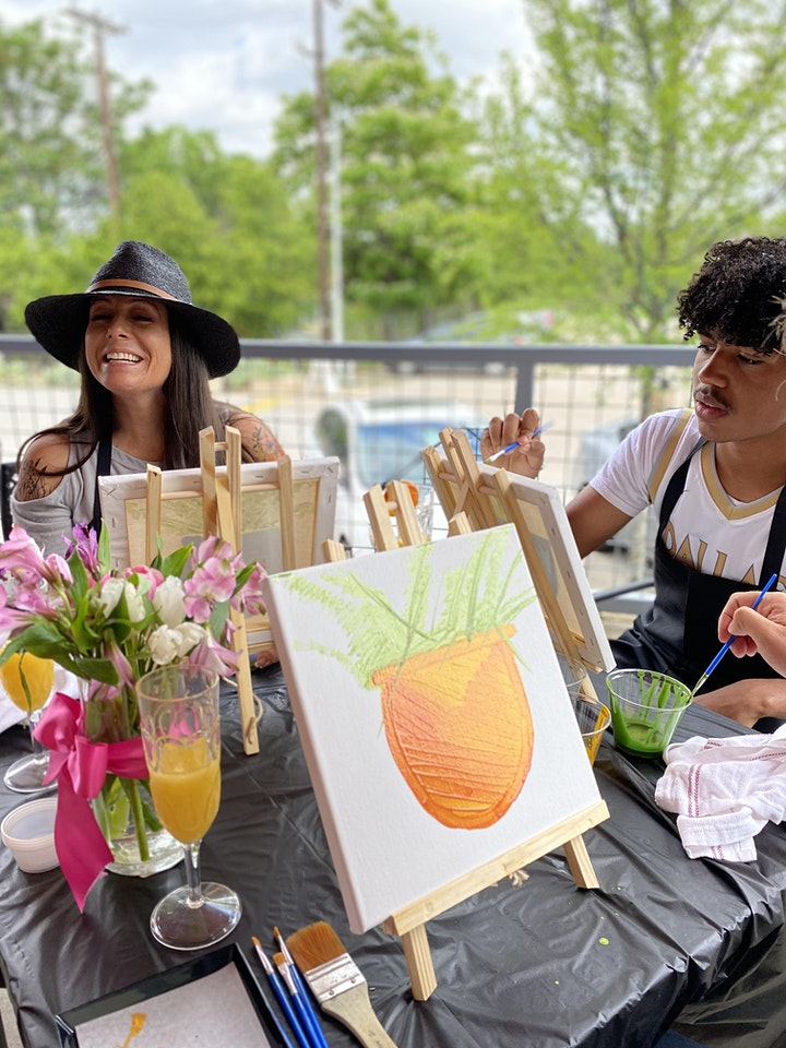 Dallas Chocolate Class |Painting with a Chocolate Twist image