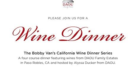 Bobby Van's California Wine Dinner Series tickets