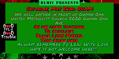 Black Lives Matter, Stop Asian Hate Rally tickets