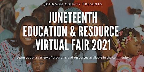 Juneteenth Education & Resource Fair Vendor Registration tickets