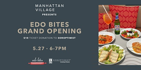 Manhattan Village Presents: Edo Bites Grand Opening tickets