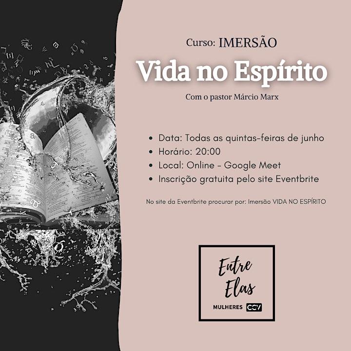 Imagem do evento Imersão VIDA NO ESPÍRITO