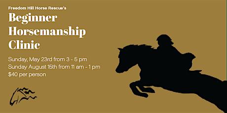 Beginner Horsemanship Clinic tickets