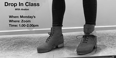 Monday Tap with Avalon Rathgeb  (Intermediate Level) tickets