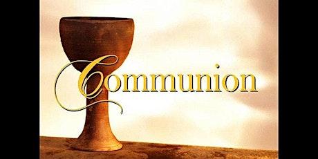 SAMEDI 22 MAI 2021 : service de Communion pour 9 personnes à la fois billets