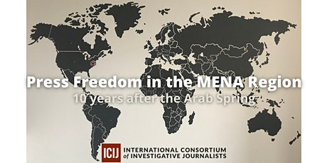 Press Freedom in the MENA Region: 10 years after the Arab Spring tickets