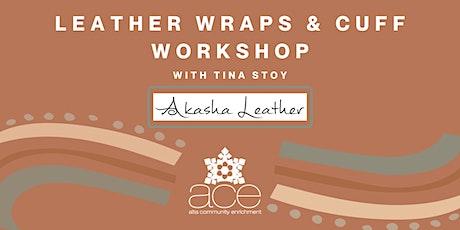 Leather Wraps & Cuffs Workshop tickets