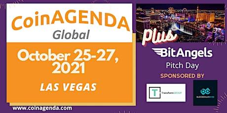 CoinAgenda Global 2021 plus BitAngels Pitch Day tickets