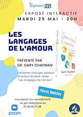 ZOOM du mardi soir : Les langages de l'amour billets