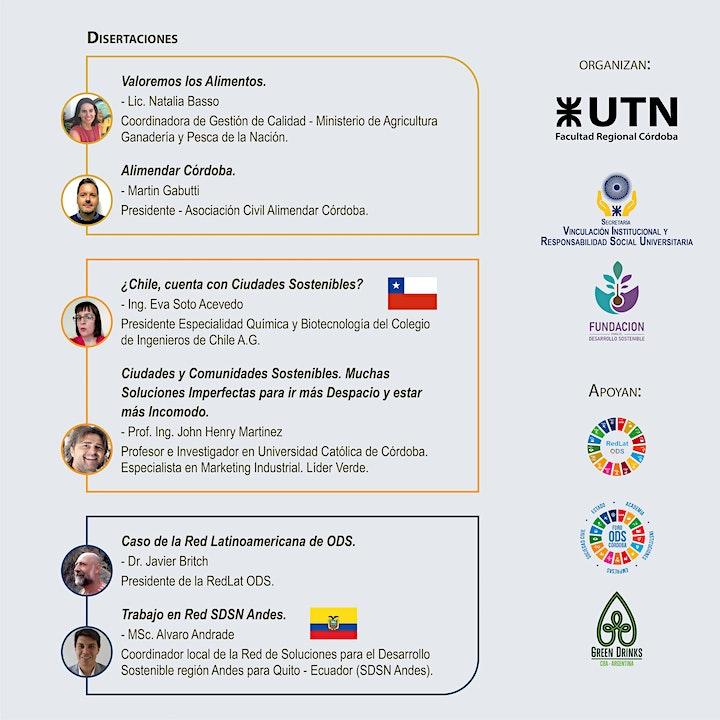 Imagen de UTN Sustentable  ODS2  /ODS11 y ODS 17