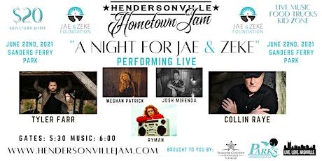 """A Night for Jae & Zeke"" tickets"