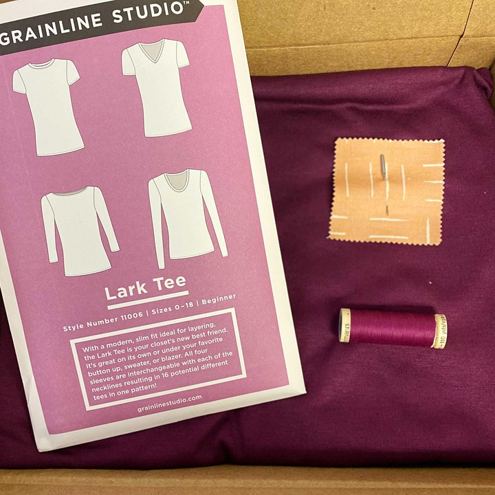 Intro to Garment Sewing Part 3: Sewing with Knits image