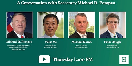 Virtual Event | A Conversation with Secretary Michael R. Pompeo tickets