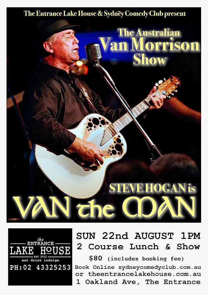 Steve Hogan is Van the Man (The Australian Van Morrison Show) image