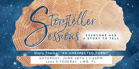 """Storyteller Sessions : """"An Unexpected Turn!"""" tickets"""